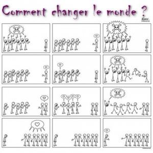 changer le monde amour